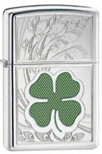 Zippo-24699-four-leaf-clover-luck-Lighter