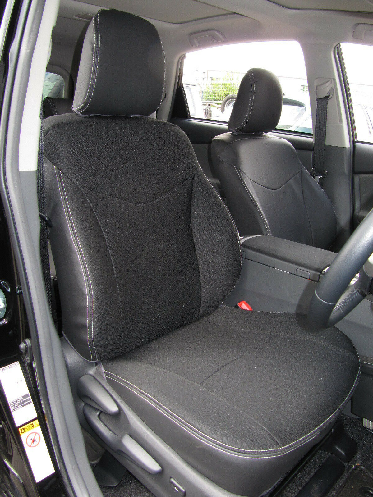 toyota prius plus 7 seater tailored waterproof seat covers taxi pack ebay. Black Bedroom Furniture Sets. Home Design Ideas