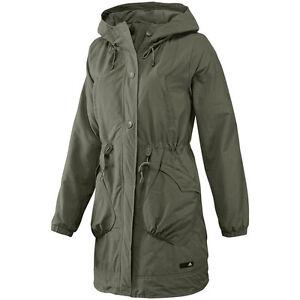 Details about Adidas J Casual Parka Jacket Womens Coat Jacket Size S Khaki-  show original title