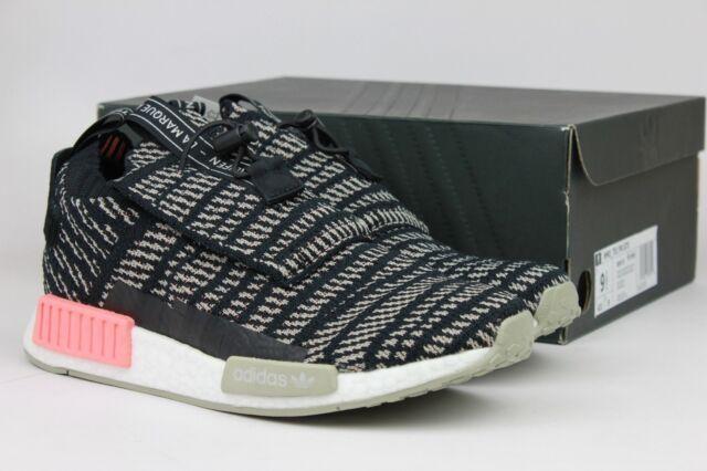 Adidas Originals NMD_TS1 PK GTX Primeknit Black Sesame Charcoal Mens BB9176