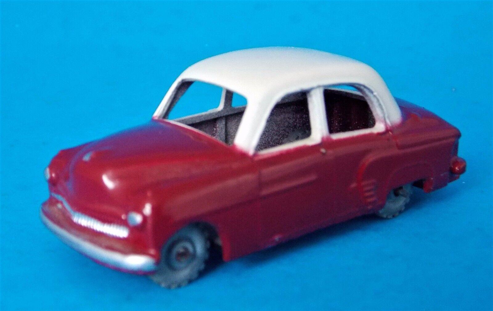 VINTAGE LESNEY ENGLAND DIECAST RED AND WHITE CAR  STIDHAM