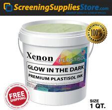 Xenon Glow In The Dark Plastisol Ink For Screen Printing 1 Quart 32oz