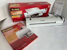 Scotch Tl1302vp 13 Inch Advanced Thermal Laminator Sealed 50 Pouches
