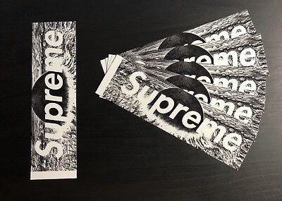 SUPREME AKIRA BOX LOGO STICKER FW17 VINYL