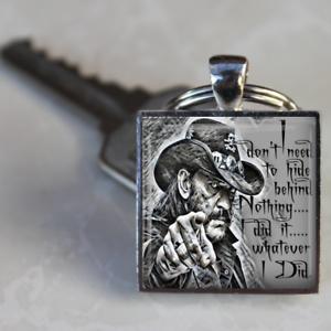 Lemmy-Motorhead-Keyring-I-did-it-whatever-I-did-Lemmy-Rock-n-Roll-Unique-gift