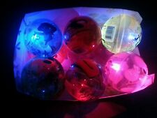 12pcs Light-Up Cartoon Characters Bouncy Ball Sensory LED Flashing Toys Light Up