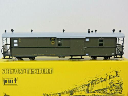 Zittau,Ep II,HOe,1:87,PMT Technomodell,5-3407,NEU Einheits-Packwagen der DRG