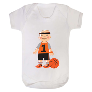 Baby Basketball Babygrow Baby Grow Babysuit baby vest Funny Gift Newborn Shower
