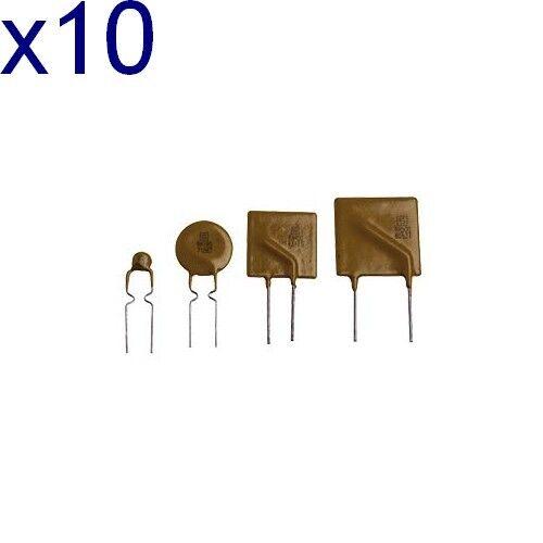 Imax 40A Fusible réarmable PTC PFRA Umax 30V lot de 10 // Dispo sous 7 jours