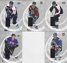 02-03 BAP All Star Simon Gagne /30 Jersey SILVER Be A Player