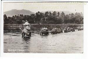 Malaysia-RPPC-Penang-Elefant-Stempel-Straits-Settlements-1935-Q