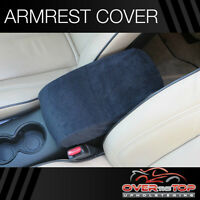 Ford F-150 (f4f) Black Armrest Cover For Console Lid 2010-2013
