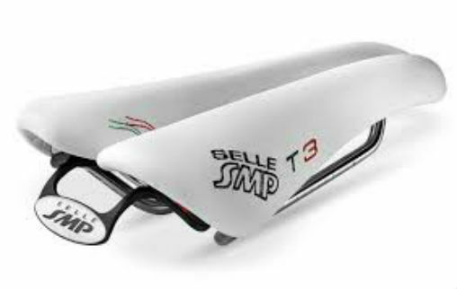 NEW Selle SMP TRIATHLON Bicycle Saddle Seat - T3 Weiß.  .  .  Made in