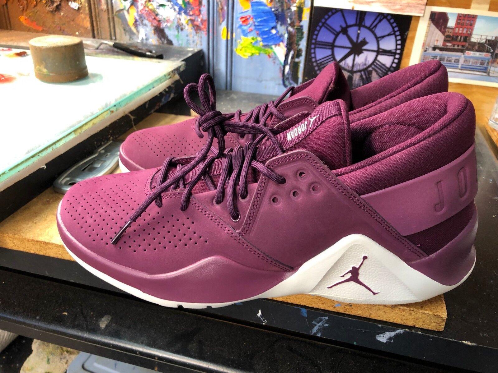 89f7373e179402 Nike Jordan Flight Fresh Premium Bordeaux Sail Size US US US 10.5 Men AH6462  625 4933a9