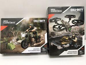 Mega Construx Call Of Duty Dragonfire Drone Strike & Motorcycle Raid FMG10 FXW78
