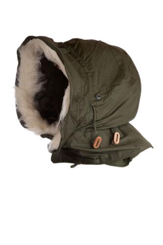 Genuine-Made-in-USA-ALPHA-Military-FISHTAIL-M65-PARKA-Hood-Unworn-New-Olive-Drab