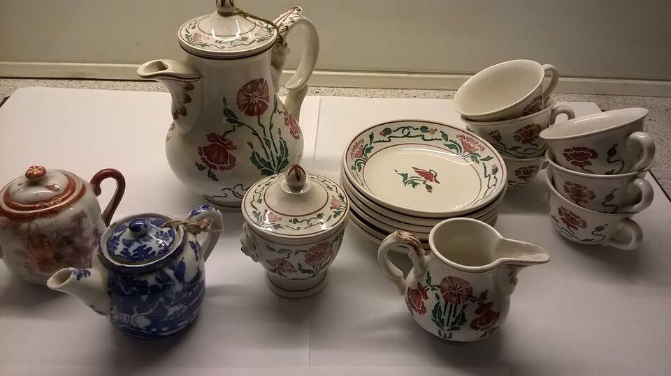 Porcelæn, stel til 6 per, villeroy og boch saxony 508
