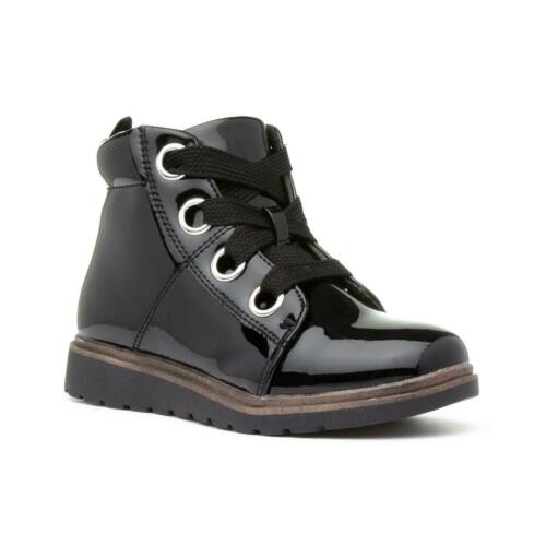 Girls Ankle Boot Lace Up Boot in Black by Chatterbox Brooke
