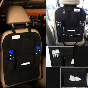 Image is loading 1PC-Auto-Car-Seat-Back-Multi-Pocket-Storage- & 1PC Auto Car Seat Back Multi-Pocket Storage Bag Organizer Holder ...