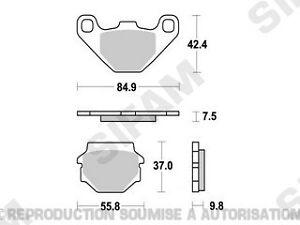 Plaquettes-de-frein-avant-Suzuki-GN-125-1991-a-2003-S1031
