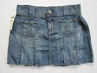 Old Navy Junior Girls Denim Skirt Sz 0 Teen Ladies Blue Jean Leggings Topper