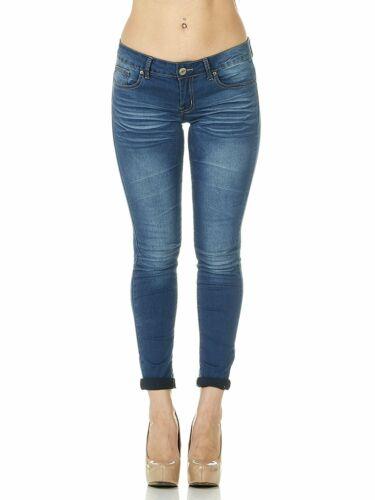 Cover Girl Skinny Jeans for Women Juniors Classic Slim Fit 5 PocketLight or Dark
