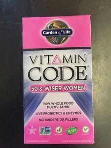 Garden Of Life Vitamin Code Women 50 Wiser 240 Capsules