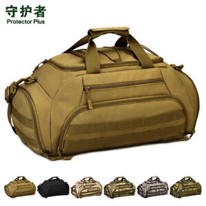 Protector-Plus-3-Ways-Tactical-Military-Nylon-Men-Holdall-Weekend-Travel-Duffel