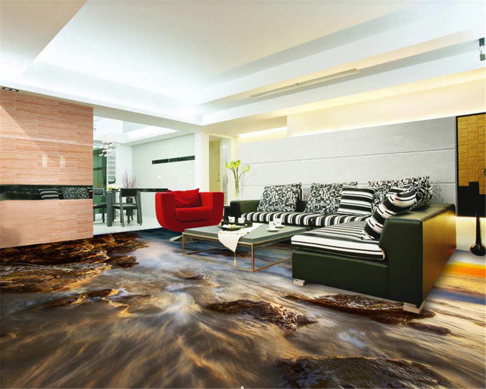 Die Schöne Bunte Himmel 3D Fußboden Wandgemälde Foto Bodenbelag Tapete Zuhause D