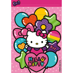 Hello Kitty Bags Treat Bags Favor Bags Goody Girls Birthday Party ... b4658cdaef69d