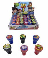 Disney Toy Story 24x W/ Box Self Ink Stamps Birthday Party Favors Bag Filler
