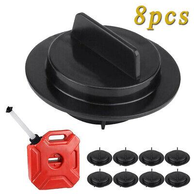 8pcs Black Gas Can Stopper Cap Spout Gasket Replacement Set For Gott Rubbermaid
