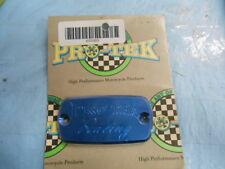Pro Tek Racing Square Brake Reservoir Caps Honda CBR600 CBR1100 VTR100 655083
