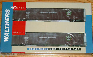 WALTHERS-932-26223-75-039-AUTO-TRAIN-AUTO-CARRIER-2-PACK-CANADIAN-NATIONAL-CN
