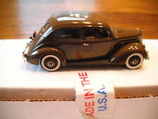 U.S.A. MODELS/MOTOR CITY 1937 FORD TWO DOOR SEDAN TAN USA-37 1/43 SCALE