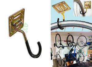 Nr 2 ganci appendibici per appendere bici bicicletta al for Ganci per appendere chitarre