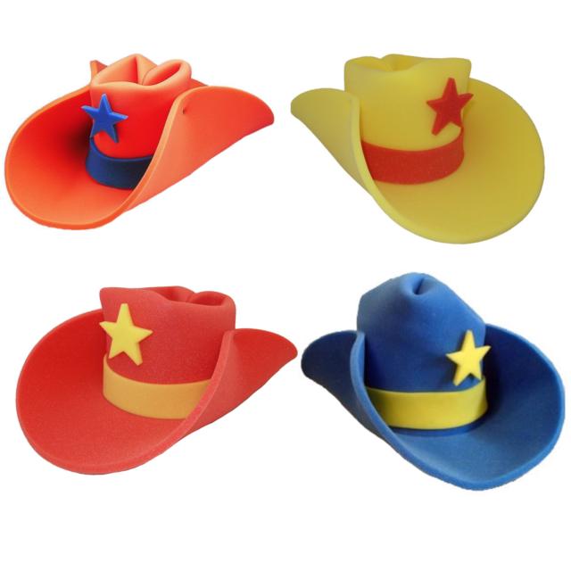 30 Gallon Foam Cowboy Hat Pick Color 10 20 Giant Big Huge Jumbo Western  Costume fd7854f6d77