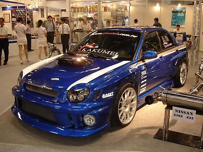 FRP Fits 2002-2003 Subaru Impreza WRX STi JDM Front Hood Scoop