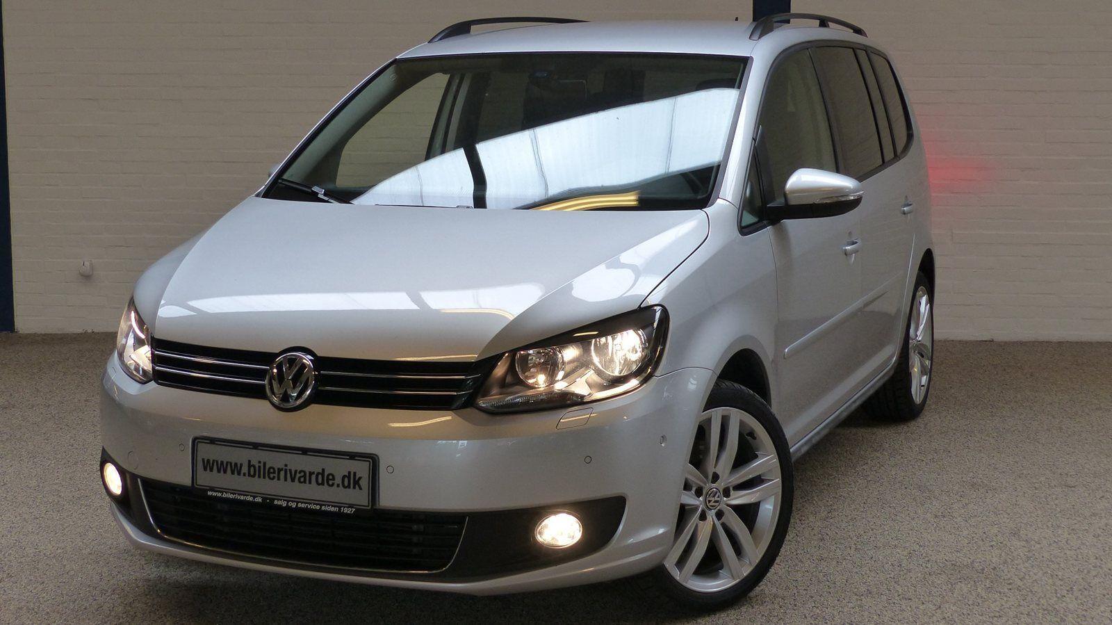 VW Touran 1,4 TSi 140 Comfortline 5d - 244.444 kr.