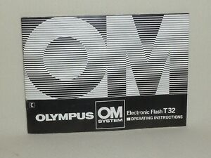 OLYMPUS-OM-SYSTEM-T32-ELECTRONIC-FLASH-INSTRUCTIONS