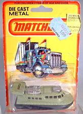 """Matchbox Superfast Nr. 2C Rescue Hovercraft avocado """"2000"""" Aufkleber"""