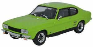 CARARAMA-CR032-CR041-FORD-CAPRI-MKI-model-cars-Lime-green-or-Silver-Fox-1-43rd