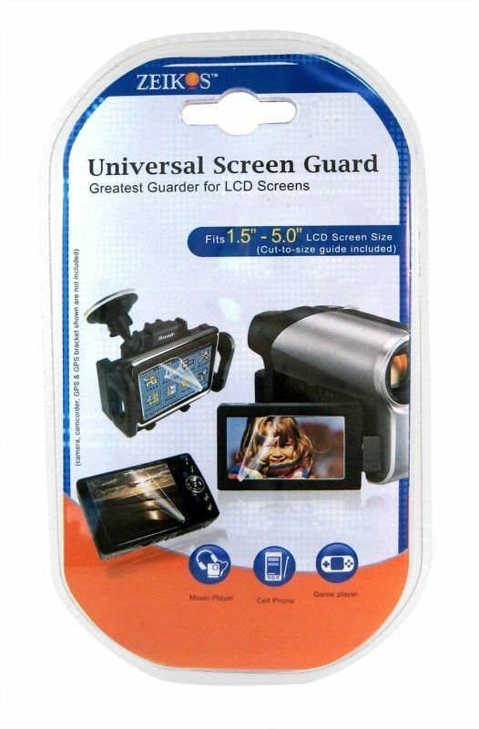3 Clear Screen Protector for Sony HDR-CX305e
