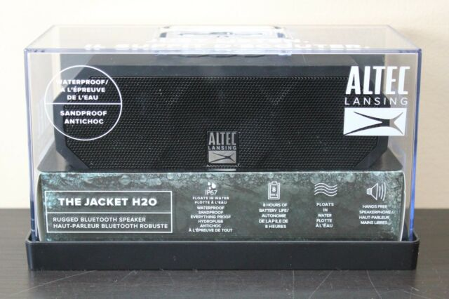 Altec Lansing The Jacket H20 rugged bluetooth speaker