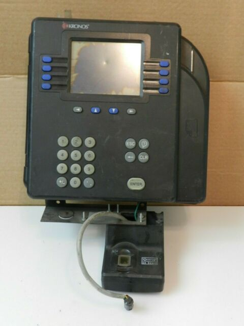 Kronos System 4500 (8602800-501) Proximity Time Clock - Card Reader