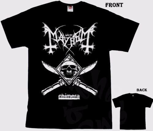 Norwegian black metal band,T/_shirt-SIZES:S to 6XL MAYHEM Chimera