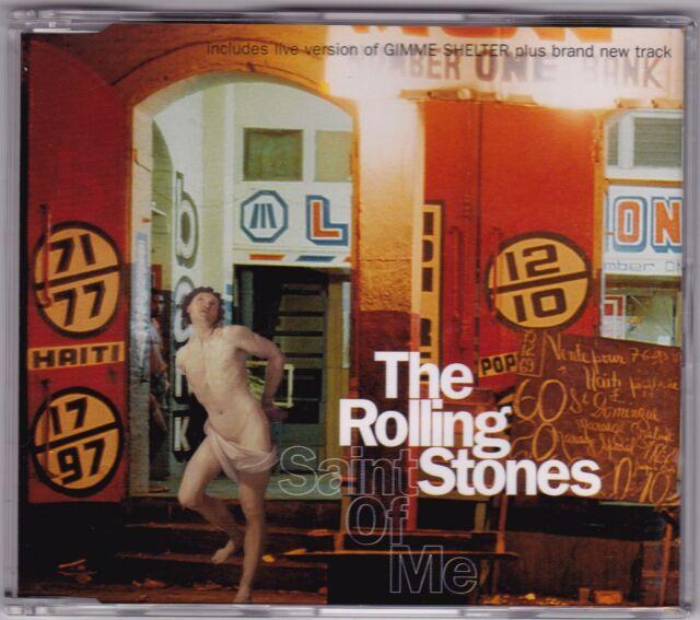 The Rolling Stones - Saint Of Me - CD (4 x Track Virgin Australia Pic. Disc)