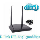 D-Link DIR-605L 300Mbps Wireless-N 2 x 5dBi antenna Router mydlink Cloud Service