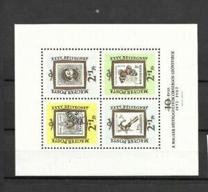 Ungarn-BLOCK-36-postfrischt-Tag-der-Briefmarke