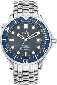2b20b85864d Omega Seamaster Diver 300M James Bond 007 Blue Dial Men s Watch ...